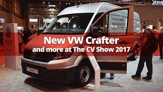 New Crafter, Amarok V6, Caddy Black Edition and more at CV Show 2017