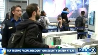 TSA Testing Facial Recognition Security System At LAX