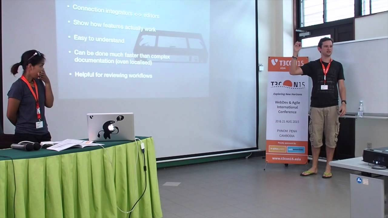 T3CON15 Asia: Improving editors's lives with NEOS