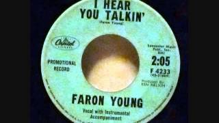 Faron Young Rockabilly 45   I Hear You Talkin'  Country Girl