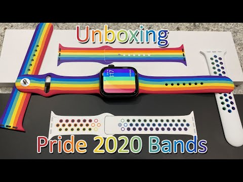 Apple Watch Pride Edition (2020) Sports bands Unboxing and Review