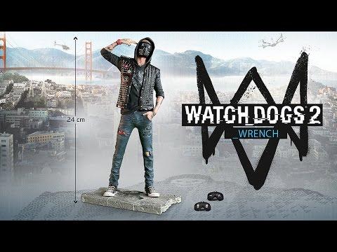 Видео № 0 из игры Фигурка Watch Dogs 2 (THE WRENCH)