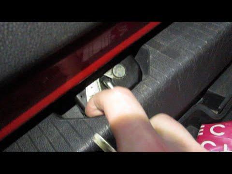 Не открывается багажник опель корса д