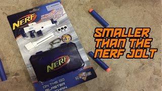 World's Smallest NERF Blaster (Nerf 2mm Kolibri Pistol?)