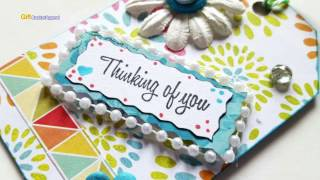 Thinking Of You Gift Tag - DIY Valentines Craft