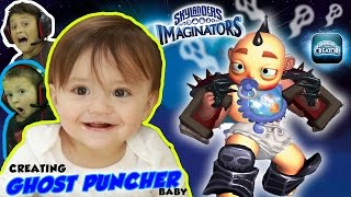 SHAWN'S A CARTOON BABY BOSS GHOST PUNCHING WRESTLER 3D PRINTED TOY!?! (SKYLANDERS IMAGINATORS App)