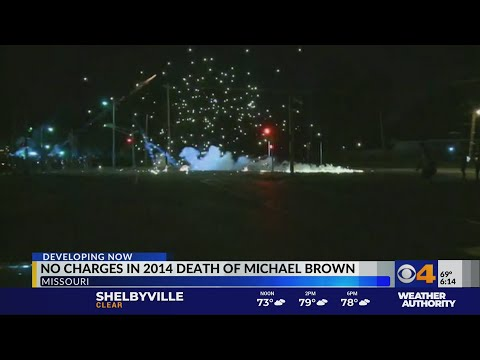 No charges in Michael Brown case