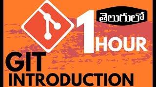 GIT Tutorial For Beginners In TELUGU   GIT Introduction In Telugu
