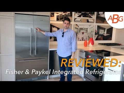 Fisher Paykel Integrated Refrigerator Review – 36″ French Door, NEW FOR 2017