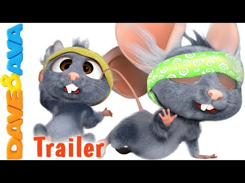 🐾 Three Blind Mice - Trailer | Nursery Rhymes From Dave And Ava 🐾 Mp3