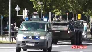preview picture of video '[SELTEN] 3x Feldjäger + Kolonne Bundeswehr auf Einsatzfahrt (Dresden Hochwasser 2013) (HD)'