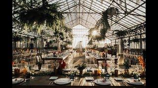 Glam Greenhouse Wedding