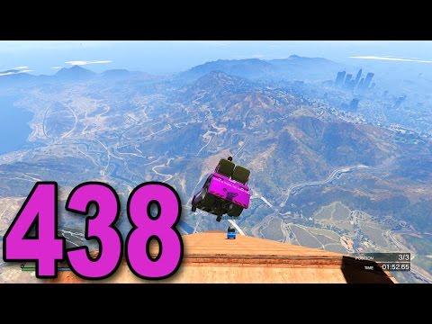 Grand Theft Auto 5 Multiplayer - Part 438 - INSANE RACE DROP! (GTA Online Gameplay)