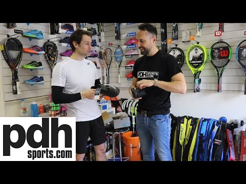 Lee Clapham Badminton tries new Yonex Power Cushion Infinity Shoes Boa® Fit System at PDHSPORTS.COM