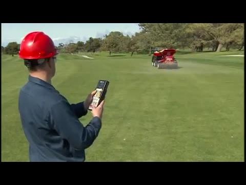 Toro® ProPass® 200 Topdresser Wireless Operation