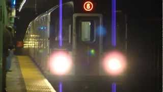 preview picture of video 'IRT Pelham Line: R142A 6 Trains at Longwood Ave (PM Rush Hour)'