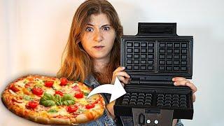 Pizza im Waffeleisen?! 5 Rezepte nur mit Waffeleisen