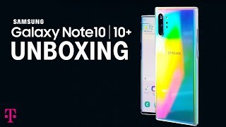 Samsung Galaxy Note10 & Note10+ Unboxing | T-Mobile
