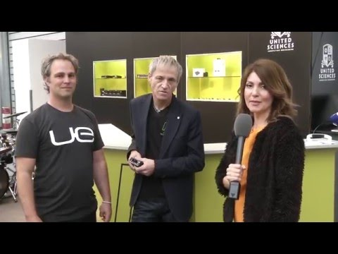Fischer Amps and Ultimate Ears Pro at Prolight + Sound in Frankfurt