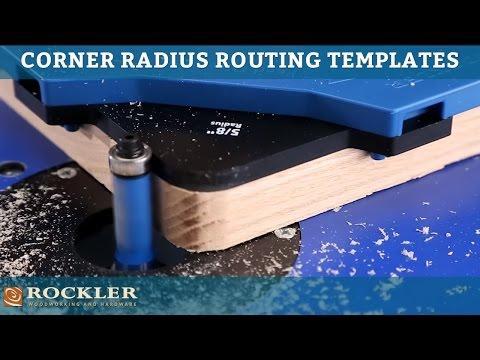 Rockler Corner Radius Routing Templates
