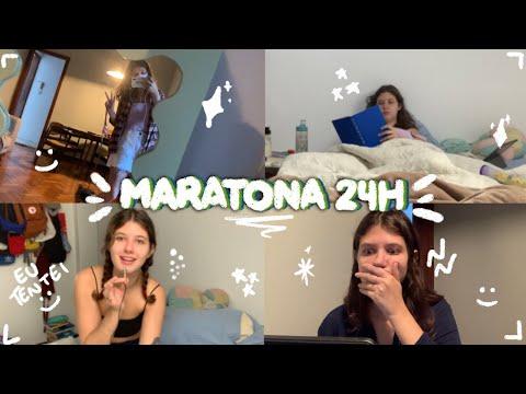 uma (quase) maratona 24h! | vlog de leitura #04