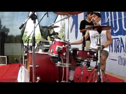Rebellion Rose - Bermalam Bintang Drumcam By GilangSandi Live Mp3