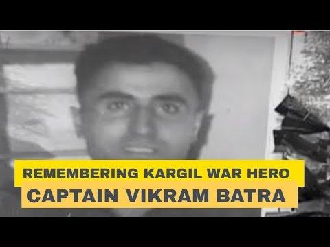 Kargil Vijay Diwas: Remembering Kargil War hero Captain Vikram Batra