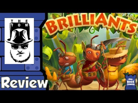 Brilliants Review - with Tom Vasel