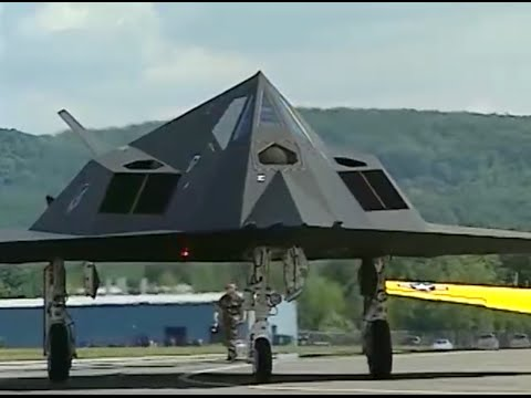 F-117 Nighthawk Stealth Facetted Body Detail