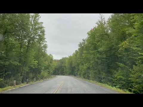 Access road for Pawtuckaway