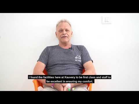 Patient Story - Mr John Le Fevre
