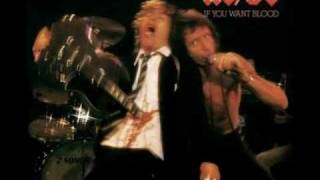 AC/DC - High Voltage / Live - If You Want Blood (You've Got It)