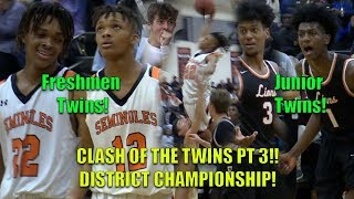 CLASH OF THE TWINS Pt 3! Henderson Twins vs Galloway Twins GETS HEATED in CHIP GAME!!!