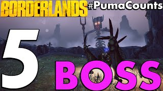 Top 5 Cheapest and Worst Bosses In Borderlands 1, 2 and The Pre-Sequel! #PumaCounts