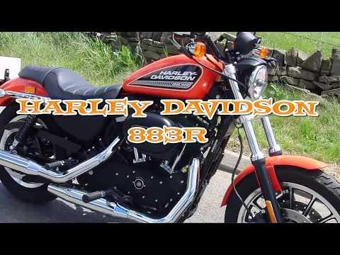 Harley Davidson 2010 Sportster 883R  Ride