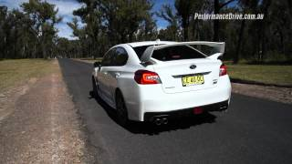 2016 Subaru WRX STI 0-100km/h & engine sound