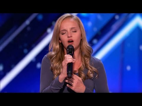 Watch Teenage Singer Break Down Crying as She Dedicates 'AGT' Audition to Dad Battling Cancer
