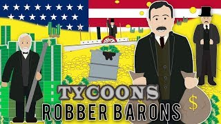 Who were the Richest Tycoons in America?
