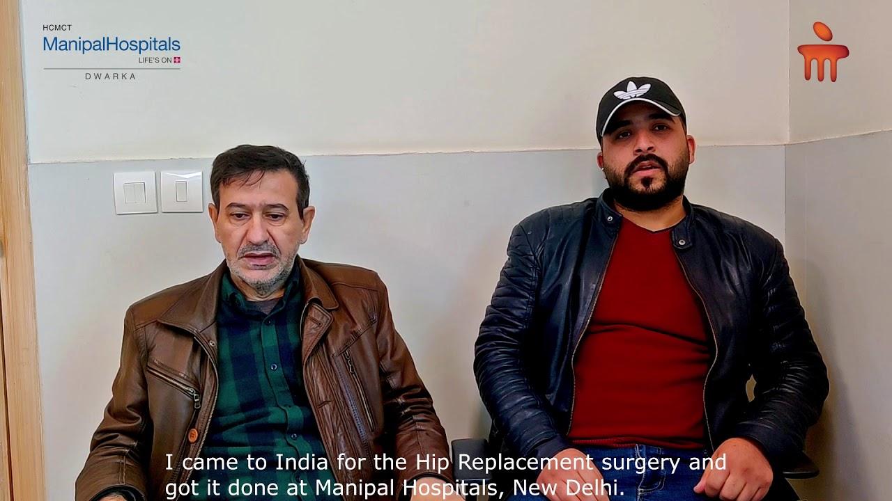Raeed Azziz Happib   Dr. Rajeev Verma   Manipal Hospitals Delhi