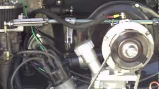 VW Bug with 2 Liter Type 4 engine and DTM Cooling