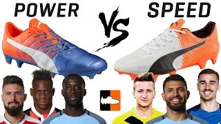 Which PUMA boot are you? evoPOWER or evoSPEED?