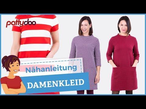 Nähanleitung A-Linien-Kleid - Ein schnell genähtes, klassisches Damenkleid!