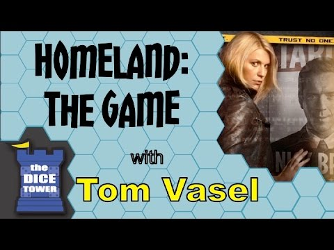 Dice Tower Reviews: Homeland: The Game