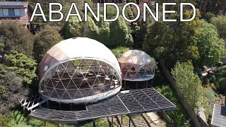 Abandoned: Pacific Geodesic Dome - Unfinished Dome House