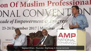 Mr Sayeed Khan Speaking During AMP National Convention
