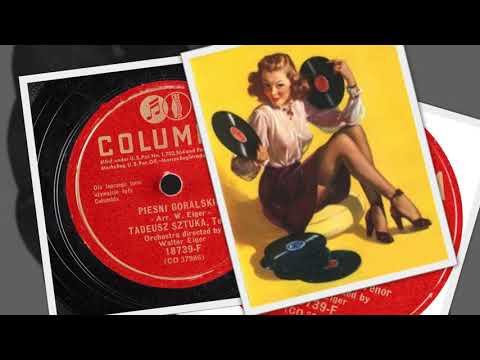 Polish 78rpm recordings, ca 1952. Columbia 18739-F. Kozak (muzyka: Stanisław Moniuszko)