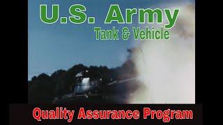 U.S. ARMY ABERDEEN PROVING GROUND  MILITARY VEHICLE & TANK QUALITY ASSURANCE   M60 PATTON   88274
