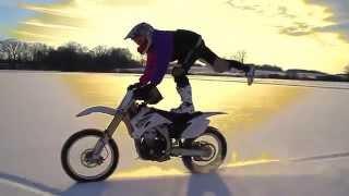 Мотокросс зимой | Motocross | Enduro
