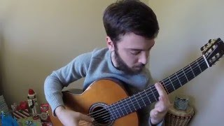 God Rest Ye Merry Gentlemen - Scott Kritzer classical guitar arrangement