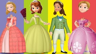 Wrong Heads Sofia the First Royal Family Parody Finger Family Song Nursery Rhymes | Super Baby Kids